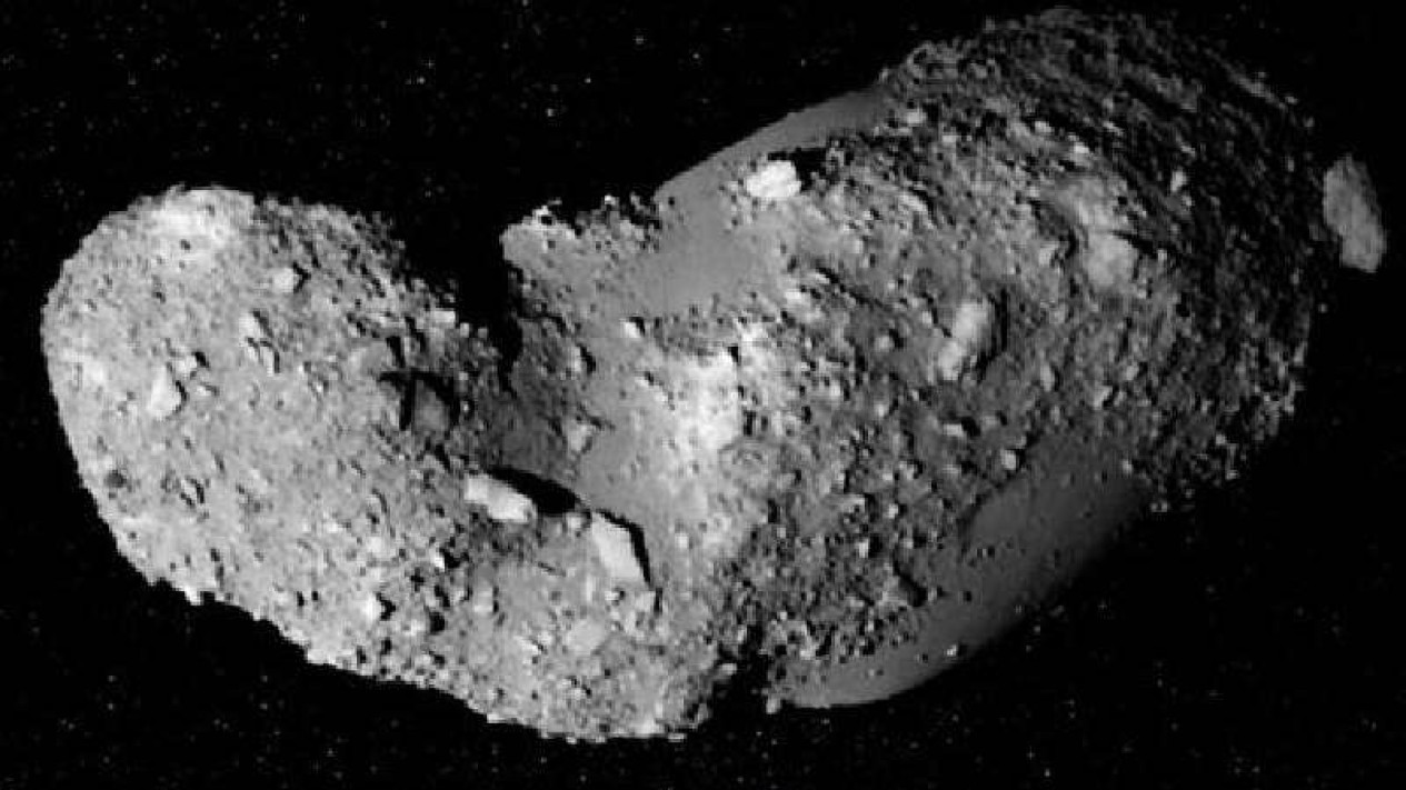 Ilustrasi Asteroid.