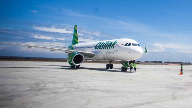 Pesawat komersial maskapai Citilink