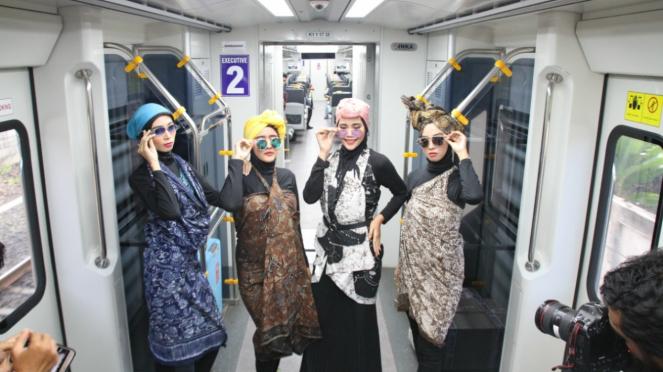 Fashion Show On Train Karya Para Mustahik Baznas