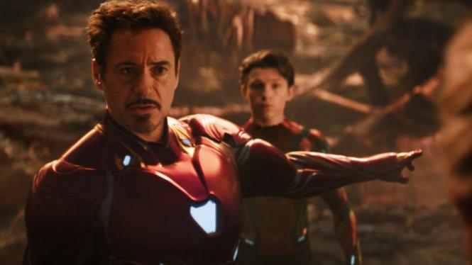 Iron Man dan Spider-Man