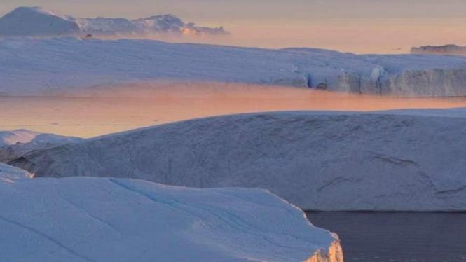 Gletser Jakobshavn Greenland