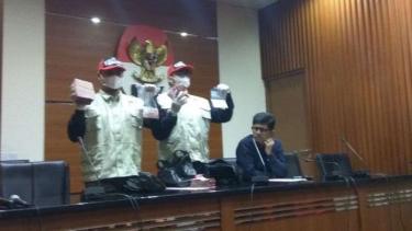 Rilis pers KPK soal kasus suap di pengadilan Balikpapan