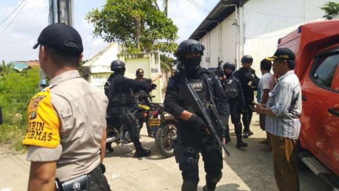 Penggerebekan terduga teroris di Babelan, Bekasi