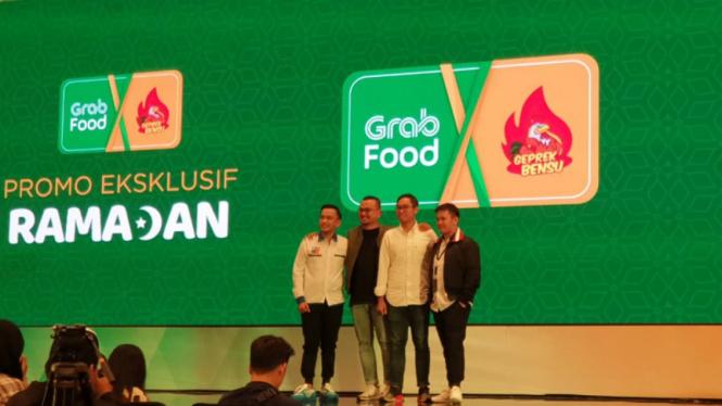 Grab Food kolaborasi dengan Ruben Onsu