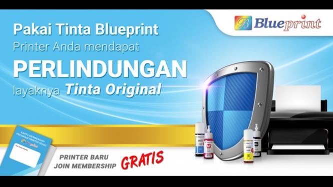 Tinta Blue Print.