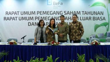 Rapat Umum Pemegang Saham Tahunan PT Bekasi Fajar Industrial Estate Tbk.