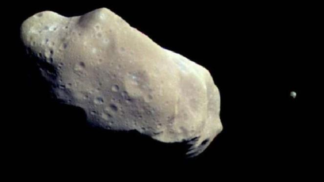 Asteroid Apophis.