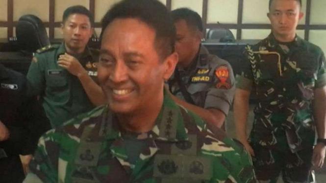 Kepala Staf TNI Angkatan Darat Jenderal TNI Andika Perkasa.