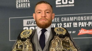 Mantan juara kelas lightweight Ultimate Fighting Championship, Conor McGregor