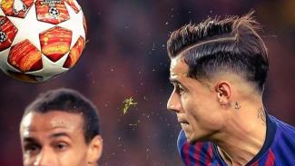 Gelandang serang Barcelona, Philippe Coutinho.