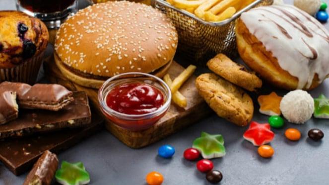 Ilustrasi bisnis makanan online.