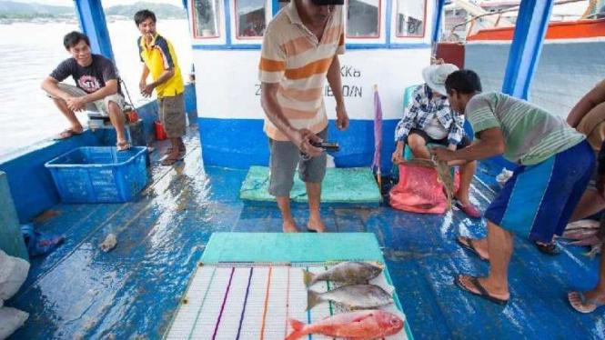 Ilustrasi nelayan.