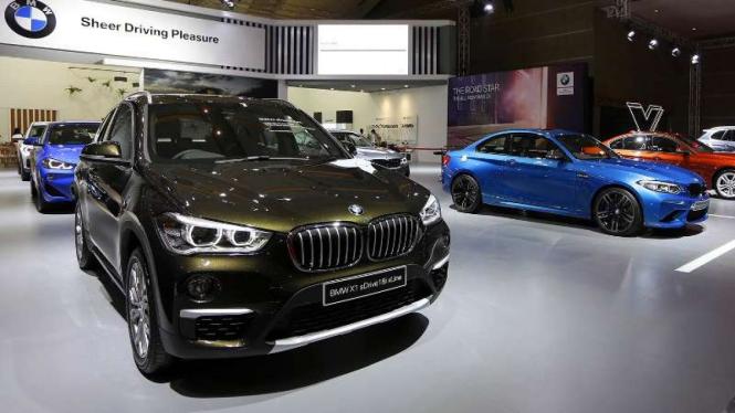 Booth BMW di IIMS 2019