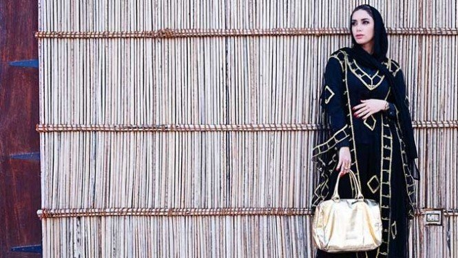Ilustrasi fashion muslim.