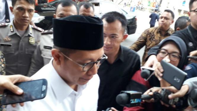 Menteri Agama Lukman Hakim Saifuddin di KPK