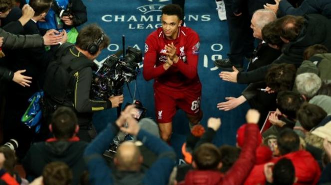 Bek Liverpool, Trent Alexander-Arnold.