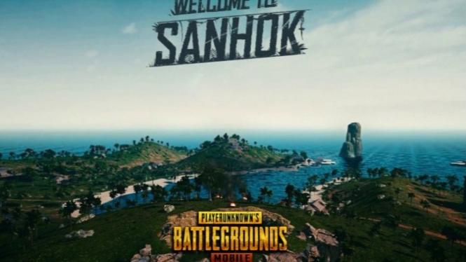 Sanhok Map PUBG Mobile.