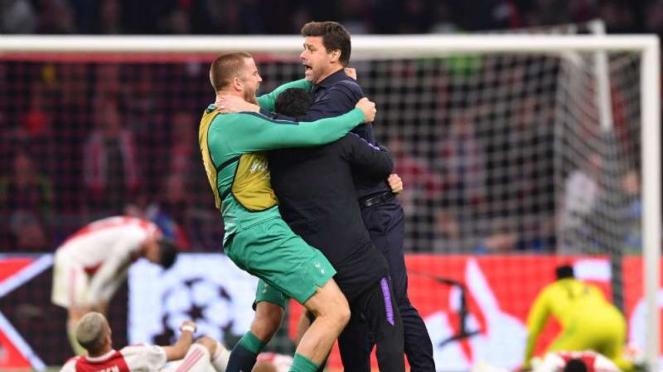 Manajer Tottenham Hotspur, Mauricio Pochettino.