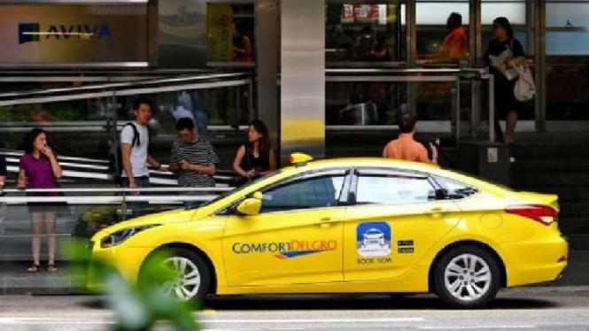 Taksi online ComfortDelgro.