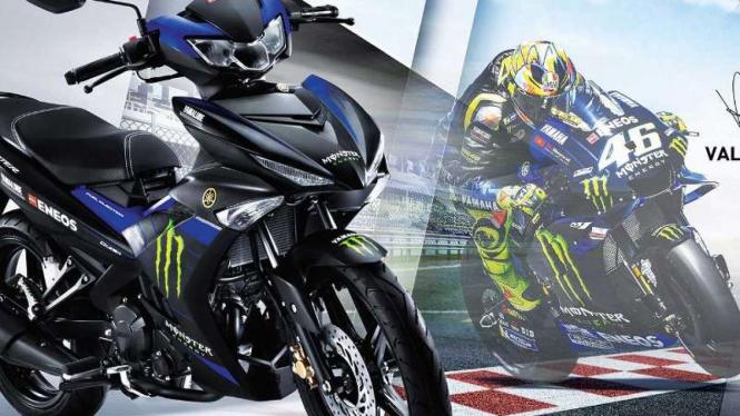 Yamaha MX King 150 dengan livery MotoGP
