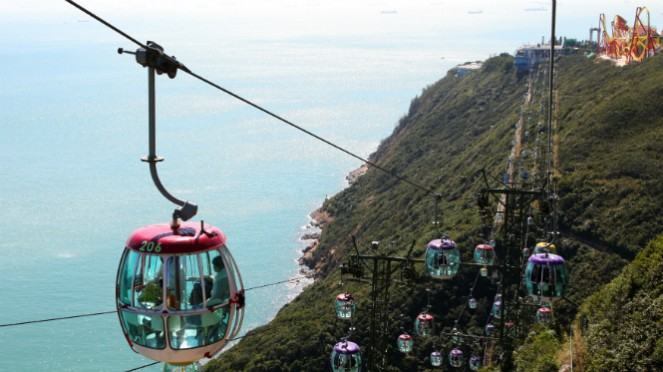 Cable Car, Ocean Park Hong Kong