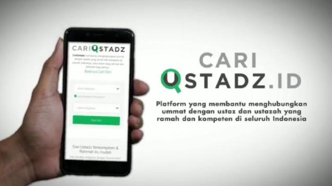 Platform cariustadz.id