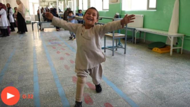 Ahmad Rahman, bocah korban perang di Afghanistan