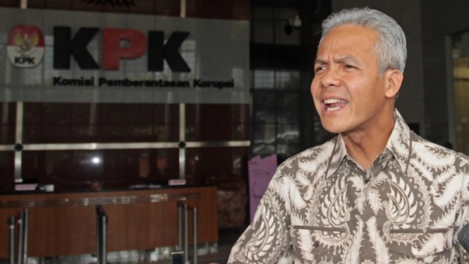Ganjar Pranowo Penuhi Panggilan KPK
