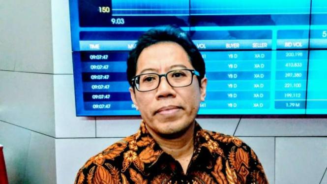 Direktur Penilaian Perusahaan Bursa Efek Indonesia, I Gede Nyoman Yetna.
