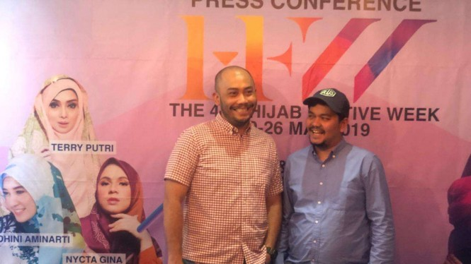 Konferensi pers Hijab Festive Week 2019.