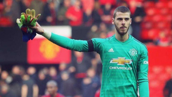 Penjaga gawang Manchester United, David De Gea