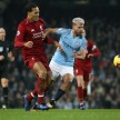 Pertandingan Premier League antara Manchester City melawan Liverpool