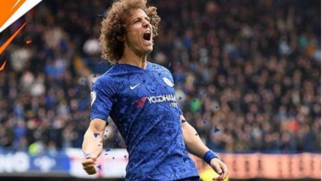 Bek Chelsea, David Luiz.