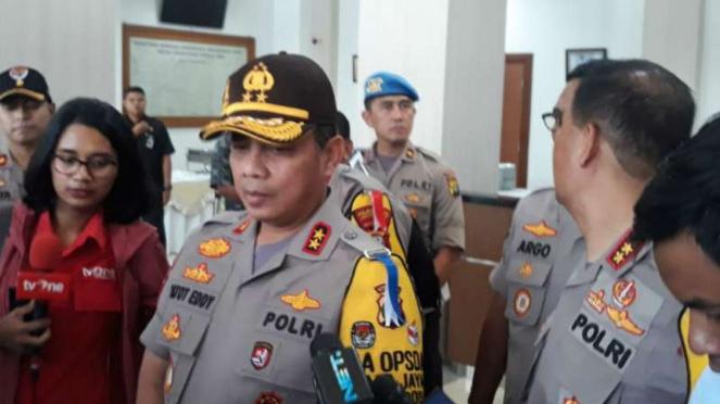 Kapolda Metro Jaya Inspektur Jenderal Polisi Gatot Eddy Pramono.