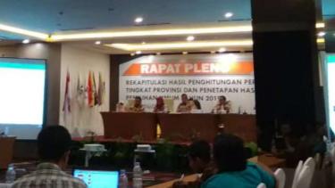 Rapat Pleno KPU Jambi.