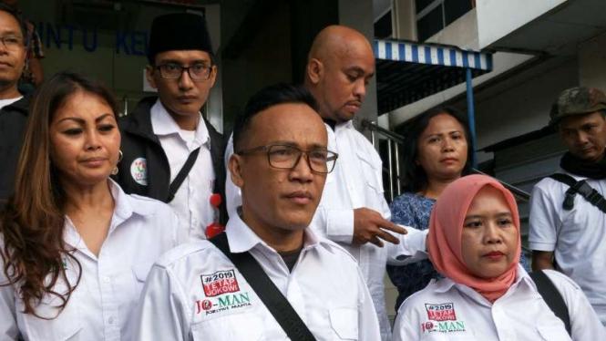Beredar Video Orang Mau Penggal Jokowi, Relawan Lapor Polisi