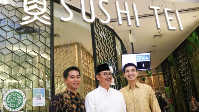 Sushi Tei Akhirnya Dapat Sertifikat Halal dari MUI