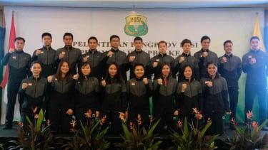 Skuat Indonesia di ajang Piala Sudirman 2019