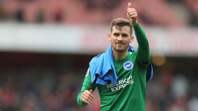 Gelandang Brighton and Hove Albion, Pascal Gross