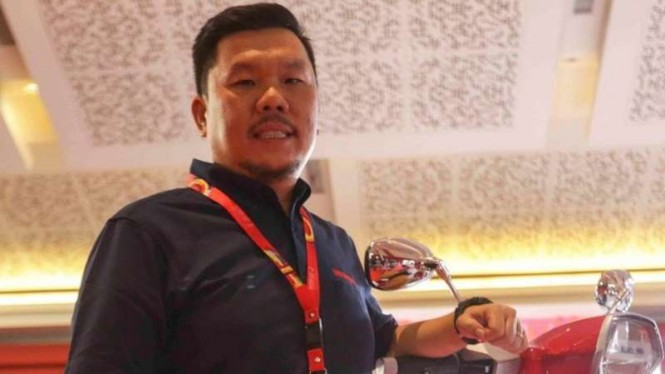 Adrianus Donny, Marketing Manager PT. Skuter Motor Indonesia (SMI).