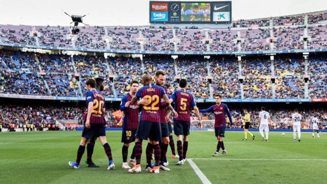Pertandingan Barcelona vs Getafe