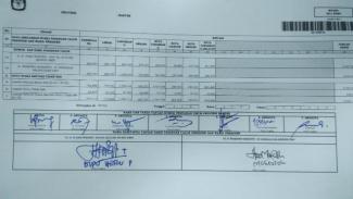 Rekapituliasi suara pilpres di Banten