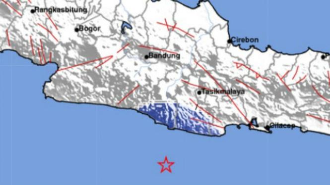 Gempa di Pangandaran