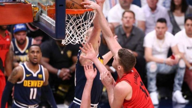 Laga Playoff NBA 2019 antara Portland Trail Blazers vs Denver Nuggets