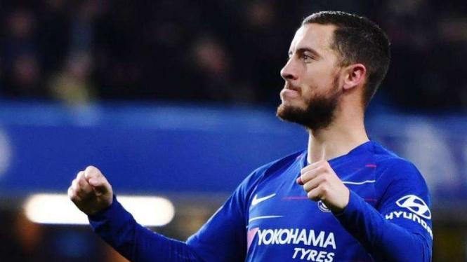 Gelandang serang Chelsea, Eden Hazard