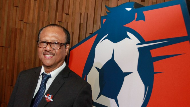 Direktur PT Liga Indonesia Baru, Dirk Soplanit