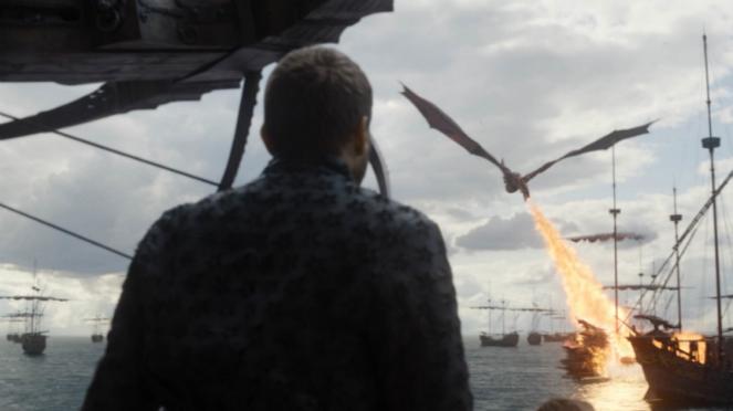 Euron Greyjoy di Game of Thrones Season 8.