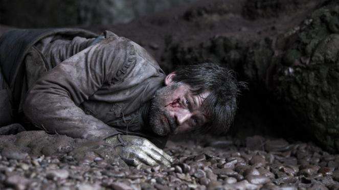 Jaime Lannister (Nikolaj Coster-Waldau) dalam Game of Thrones Season 8.