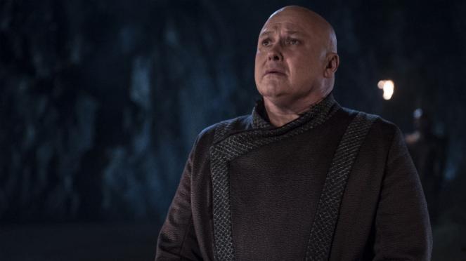 Lord Varys dalam Game of Thrones Season 8.