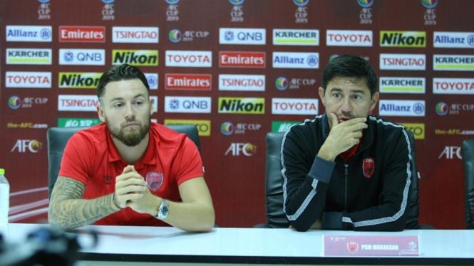 Pelatih PSM Makassar, Darije Kalezic dan Marc Klok